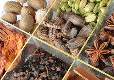 Stort udvalg i krydderier